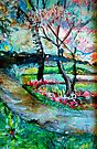 Springtime in Folsom by Diane  Kramer