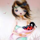 Baby Ladybug by Femke Nicoline Muntz