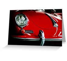 Porsche 356 Coupe from Daniel's Eye! Greeting Card