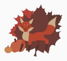 Fall Fox Baby Tee