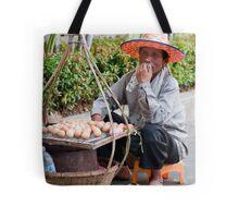 Egg Man Tote Bag