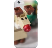 Lego Rudolf the Red Nose Reindeer iPhone Case/Skin
