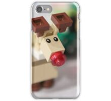 Lego Rudolf the Red Nose Reindeer iPhone Case/Skin