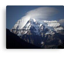 Mt Robson BC  Canvas Print