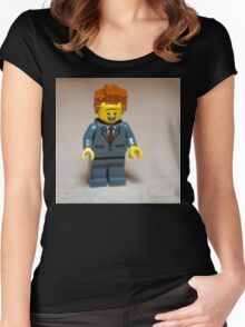 Business Professional Women's Fitted Scoop T-Shirt