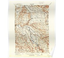 USGS Topo Map Oregon Boring 282271 1914 62500 Poster