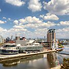 Manchester at Salford Quays by Debu55y