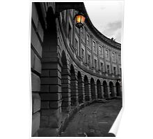 A Beautiful Buxton Crescent Poster