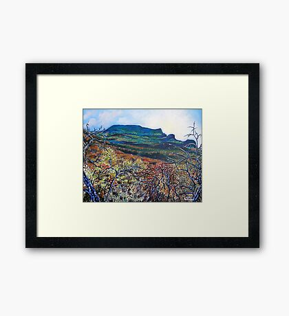 'Grandfather Mountain' Framed Print
