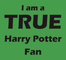 I am a True Harry Potter Fan Kids Clothes