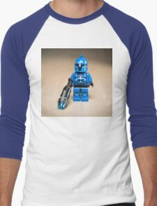 Senate Captain Commando Men's Baseball ¾ T-Shirt