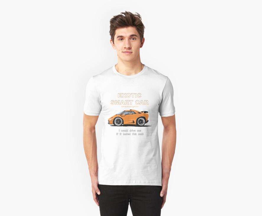 Exotic Smart Car (smamorghini) by Randall Robinson
