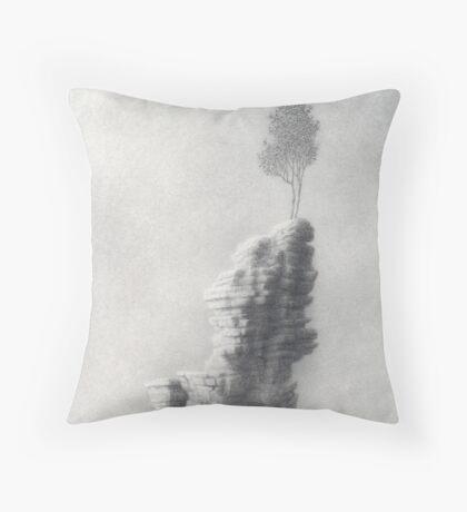 Waking Throw Pillow