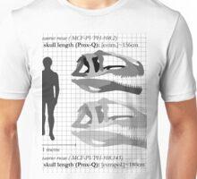 Strong Yangchuanosaurus Unisex T-Shirt