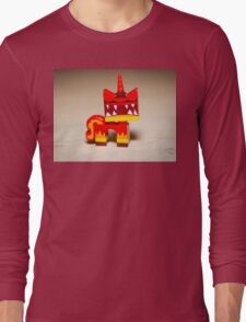 Super Angry Kitty Long Sleeve T-Shirt
