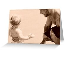 unconditional Greeting Card