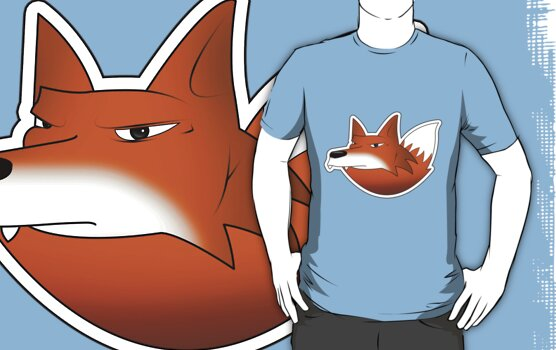 The official Digifox Logo shirt by digifox