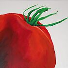Tomato : Still life painting by Simon Rudd