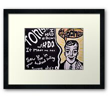 My Goodness Framed Print