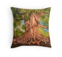 Roots Grow Deep Throw Pillow