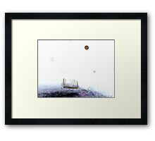 In The Still Dark Night Framed Print