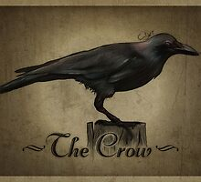 The Crow by Stained