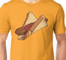 Snags: Snag with Sauce Unisex T-Shirt