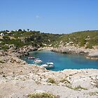 A quiet bay in Menorca. by Fara