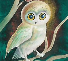 Elf Owl by AngelArtiste