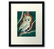 Elf Owl Framed Print