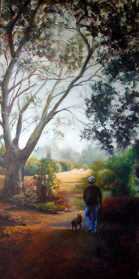 Morning stroll (Werribee-Victoria) by Ivana Pinaffo