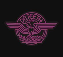 Dr.Teeth and the Electric Mayhem - Logo Design in PINK by NoirGraphic