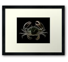 Cancer- The Zodiac by Liane Pinel Framed Print
