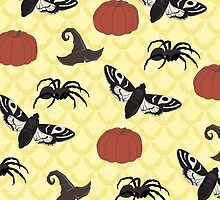 Halloween Pattern by mariaulmer