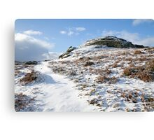 Dartmoor in the Winter time Canvas Print