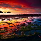 Tessellated Dawn by lee Henley