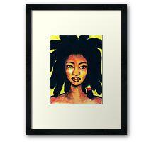 Jamaican Girl Framed Print