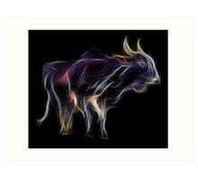 OX - Chinese Zodiac by Liane Pinel Art Print