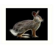 Rabbit - Chinese Zodiac by Liane Pinel Art Print