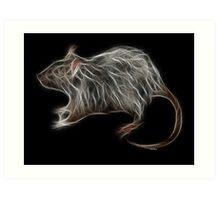 Rat - Chinese Zodiac by Liane Pinel Art Print
