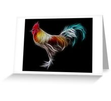 Rooster - Chinese Zodiac by Liane Pinel Greeting Card