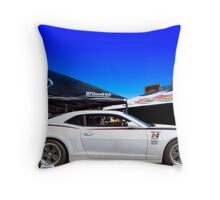 Detroit Speed: Hurst Edition Camaro Throw Pillow