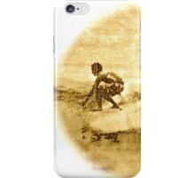 Sepia Surfer iPhone Case/Skin