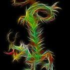 Dragon - Chinese Zodiac by Liane Pinel by Liane Pinel