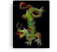 Dragon - Chinese Zodiac by Liane Pinel Canvas Print
