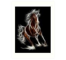 Horse - Chinese Zodiac by Liane Pinel Art Print