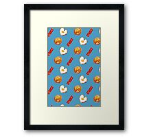 Breakfast of Champions Framed Print