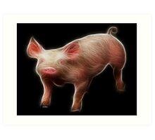Pig - Chinese Zodiac by Liane Pinel Art Print