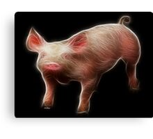 Pig - Chinese Zodiac by Liane Pinel Canvas Print