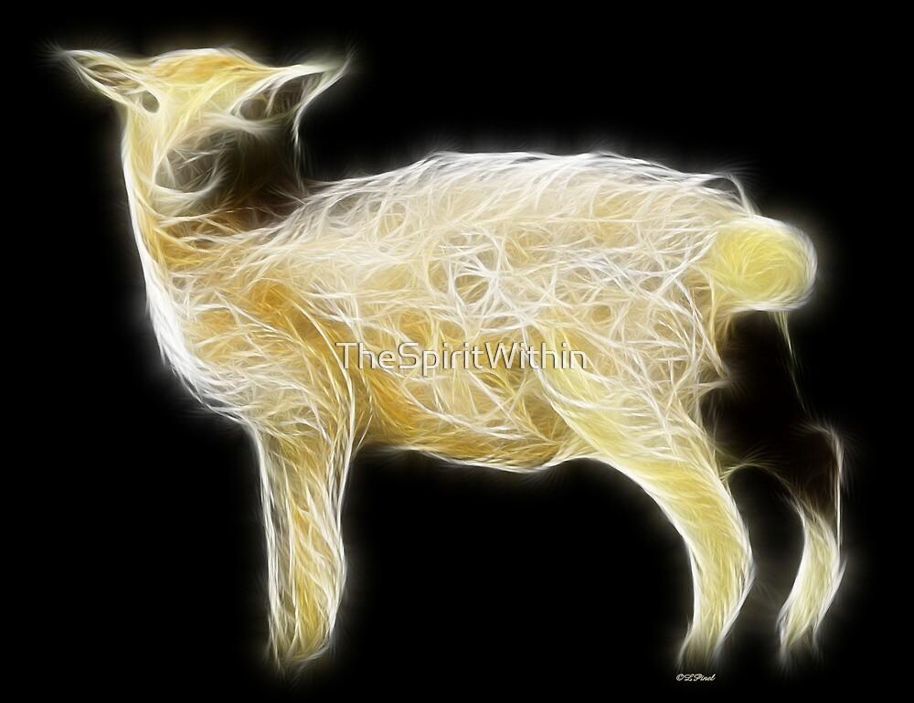 Sheep - Chinese Zodiac by Liane Pinel by Liane Pinel